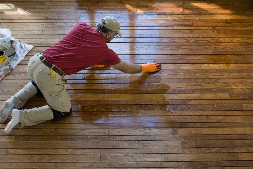 Hardwood floor refinishing in Detroit, MI