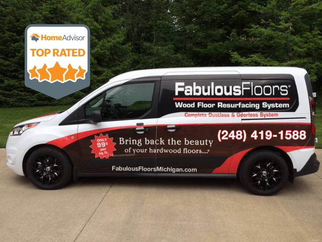 The Fabulous Floors Michigan Van